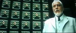 """Главный архитектор виртуального мира. (кадр из фильма """"Матрица 2: Перезагрузка"""")"""