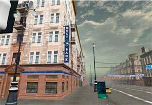 Виртуальные улицы города Москвы